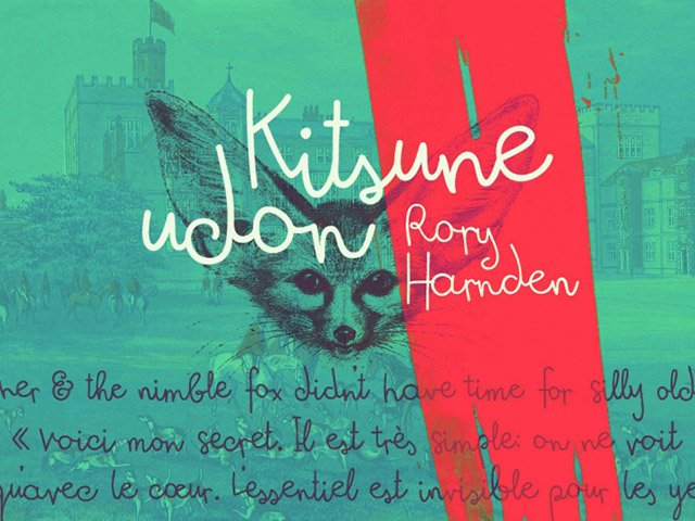 Шрифт Kitsune Udon скачать бесплатно