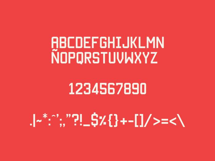 Шрифт Manteka скачать бесплатно