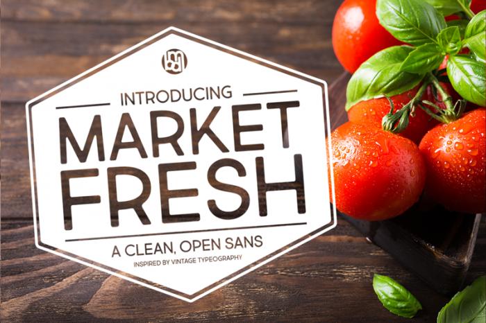 Шрифт Market Fresh скачать бесплатно