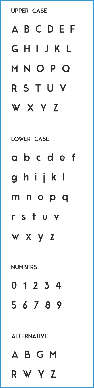 Шрифт Moderne Sans скачать бесплатно