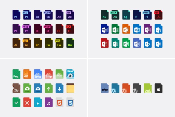 Play filetypes иконки (.Psd) скачать бесплатно