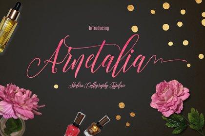 thumbnail_Arnetalia-Free-Font