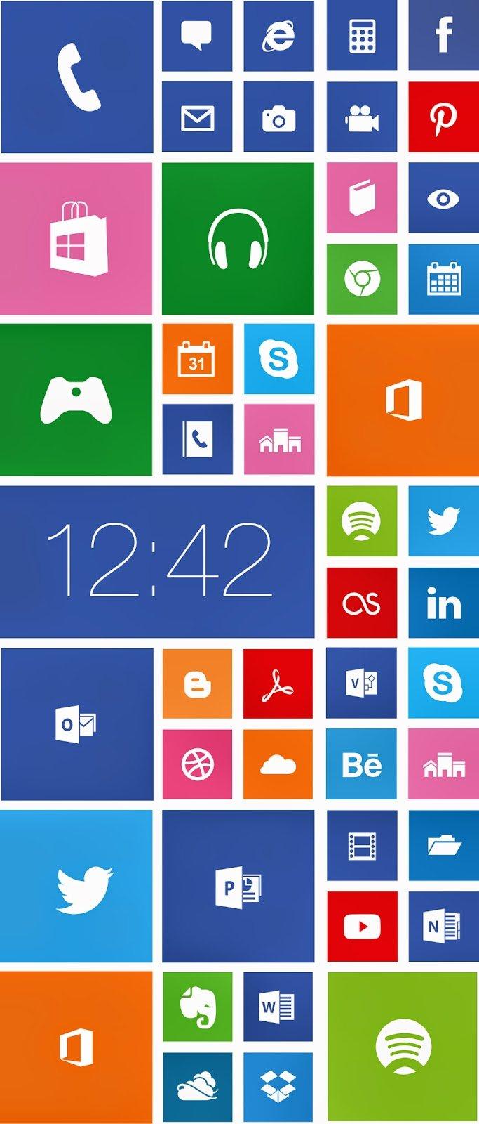 Иконки Windows Phone 8 (.Ai) скачать бесплатно