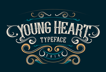 youngheart_font_min